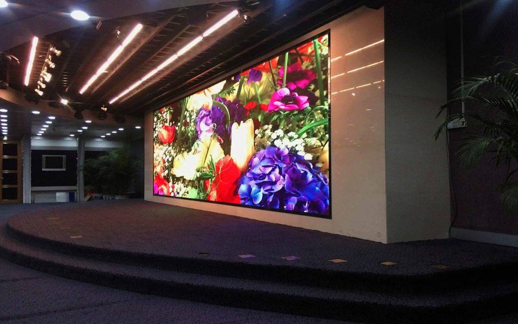 Publicidad en pantallas led interior